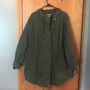 Old Navy Olive Green Jacket Size Xxl